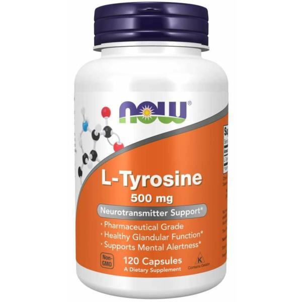 L-Tyrosine 500mg 120c