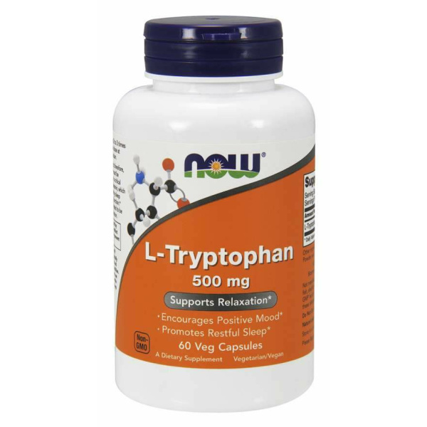 L-Tryptophan 500mg 60vc
