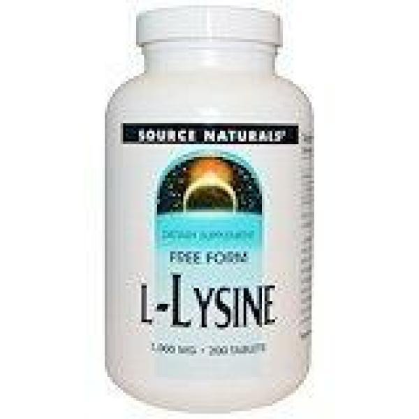 L-Lysine 500 Mg 100C