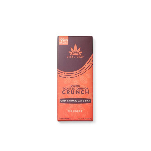 Vital Leaf 100mg CBD Quinoa Crunch Chocolate Bar