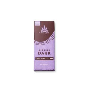 Vital Leaf 100mg CBD Dark Chocolate Bar