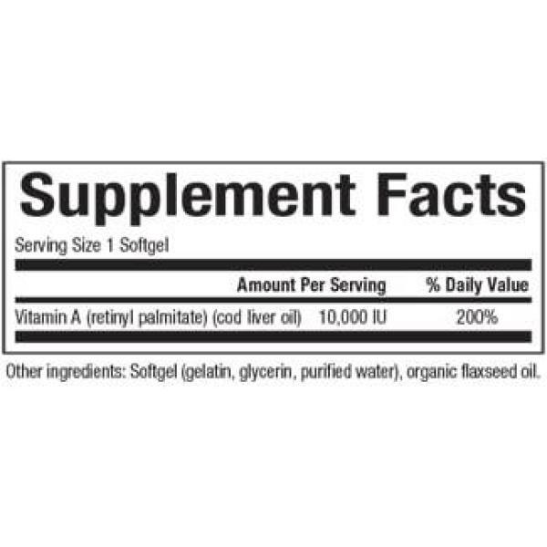 Vitamin A 10000IU 180SG