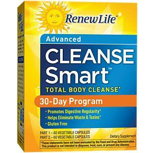 Renew Life Cleanse Smart 2 Part Kit
