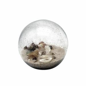 Glass Shell Beach Orb