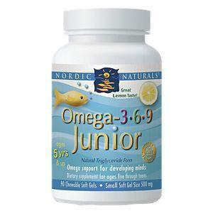 Omega 3-6-9 Junior 90 Softgels