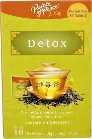 Prince of Peace Detox Tea 18Ct