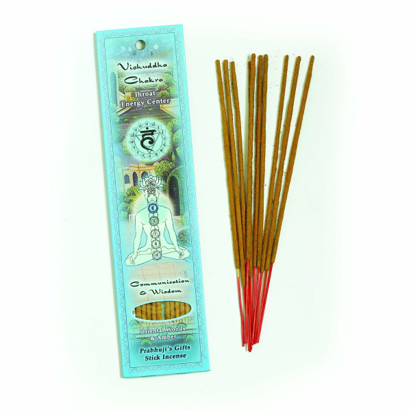 Incense Throat Chakra 10ct