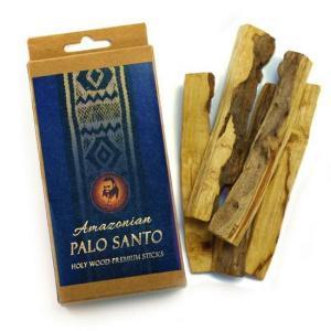 Premium Amazonian Palo Santo Raw Smudging Wood 5 Sticks