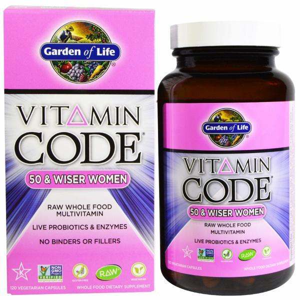 Vitamin Code Wiser Women 120C