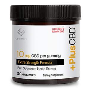 Plus CBD Oil Gummies Cherry Mango 10mg 30ct