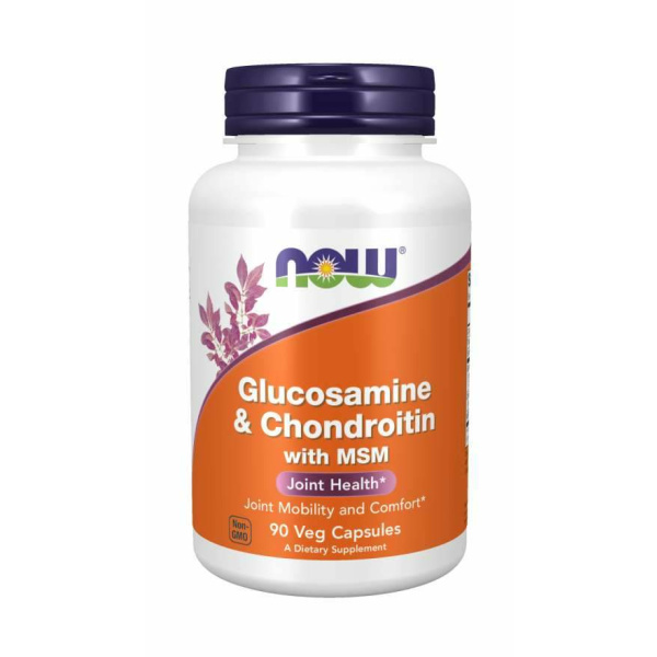 Glucosamine & Chondroitin with MSM 90vc