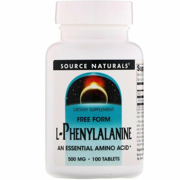 L-Phenylalanine 500 Mg
