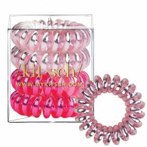 Metallic Crush Hair Coils 4 Count
