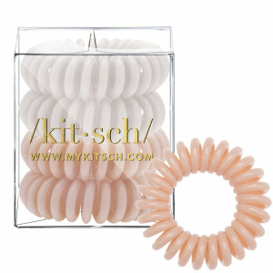 Nude Hair Coils 4 Count