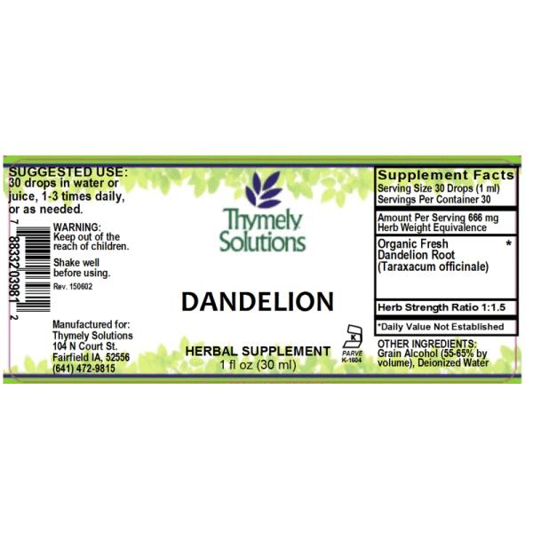 Dandelion 1oz