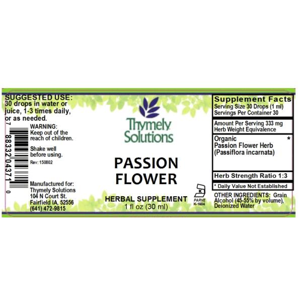 Passion Flower 1oz