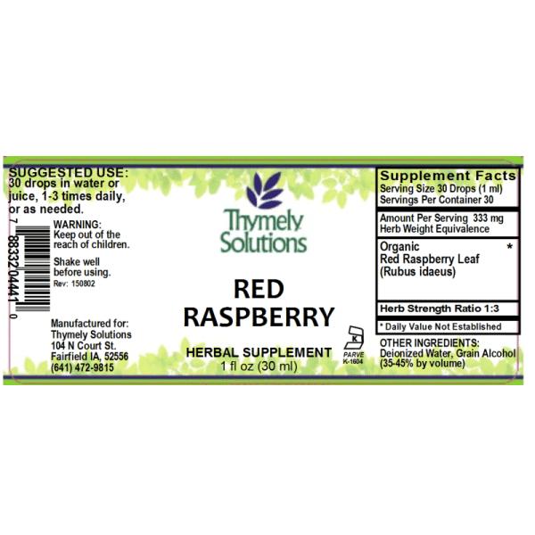 Red Raspberry 1oz