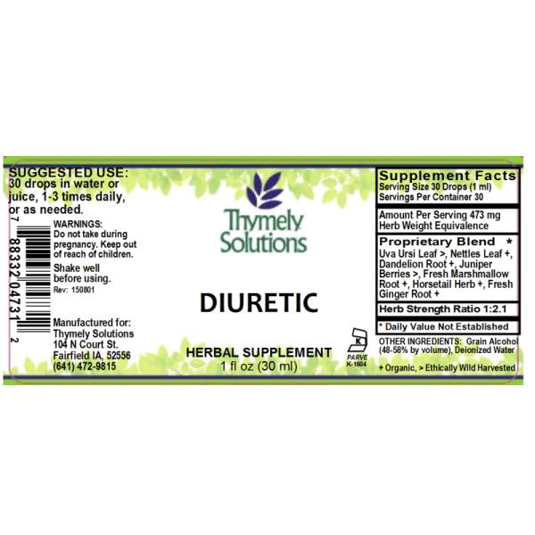 Diuretic/Kidney Complex 1oz