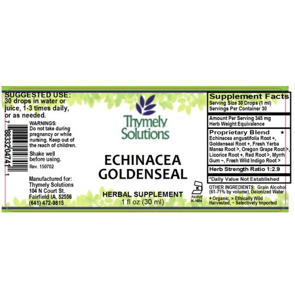 Echinacea Goldenseal 1oz