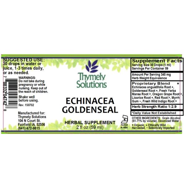 Echinacea Goldenseal 2oz