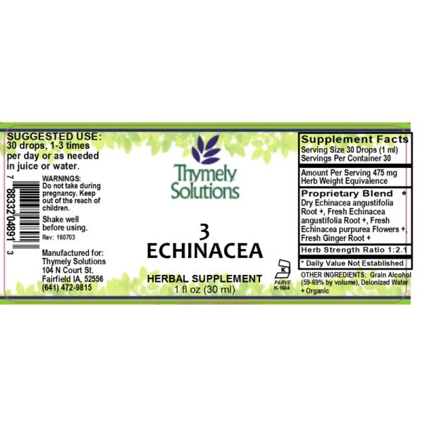Echinacea 3 1oz