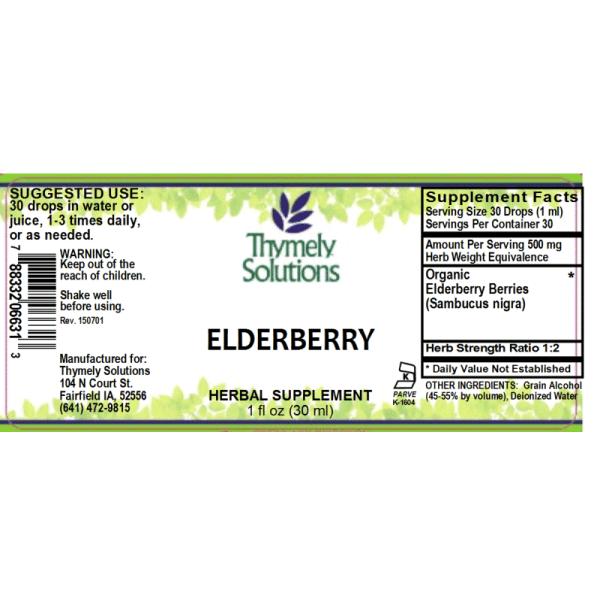 Elderberry 1oz