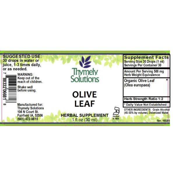 Olive Leaf 1oz