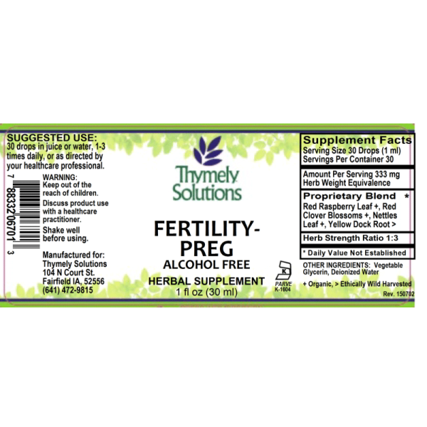 Fertility-Preg 1oz Af
