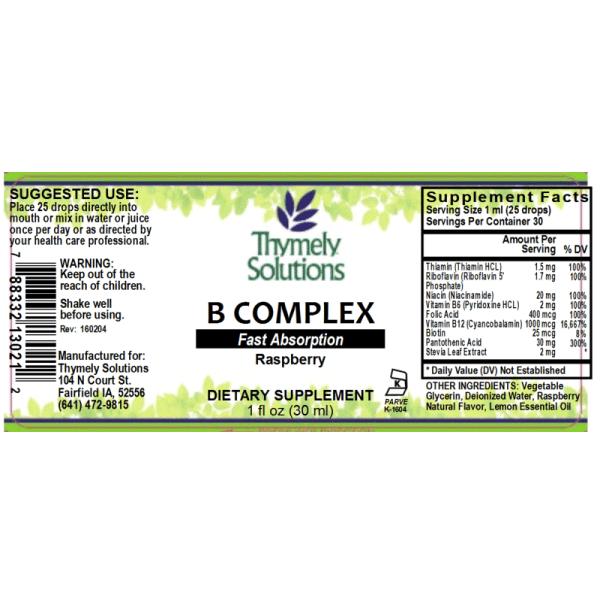 B Complex 1oz AF