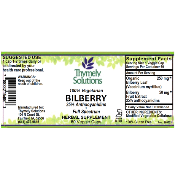 Bilberry 60C