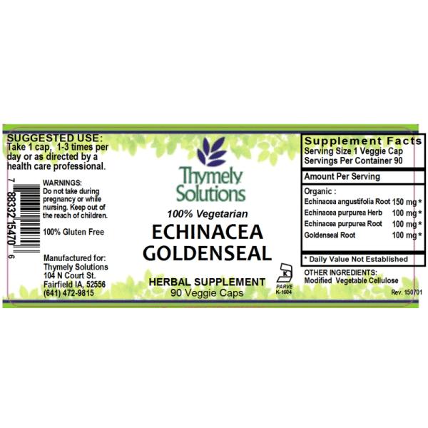 Echinacea Goldenseal 90C