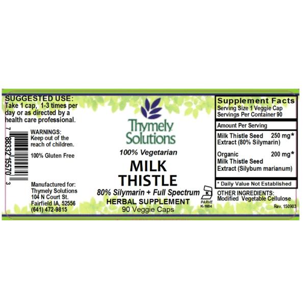 Milk Thistle 90C