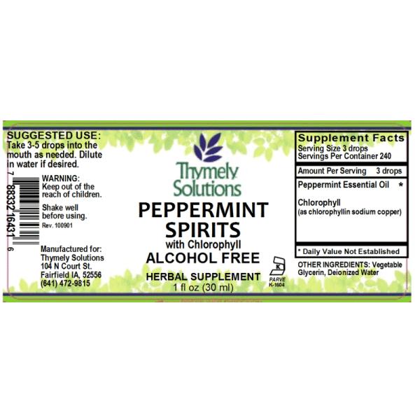 Peppermint Spirits Af 1oz