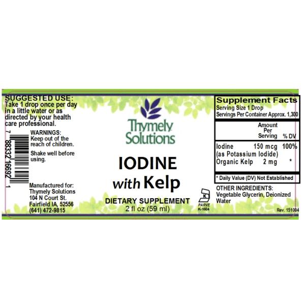 Iodine W/ Kelp 2oz