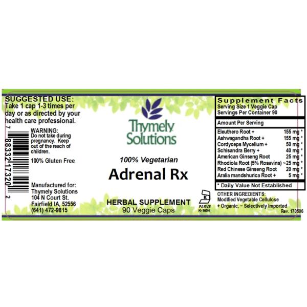 Adrenal Rx 90C
