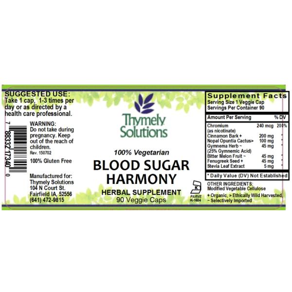 Blood Sugar Harmony 90C