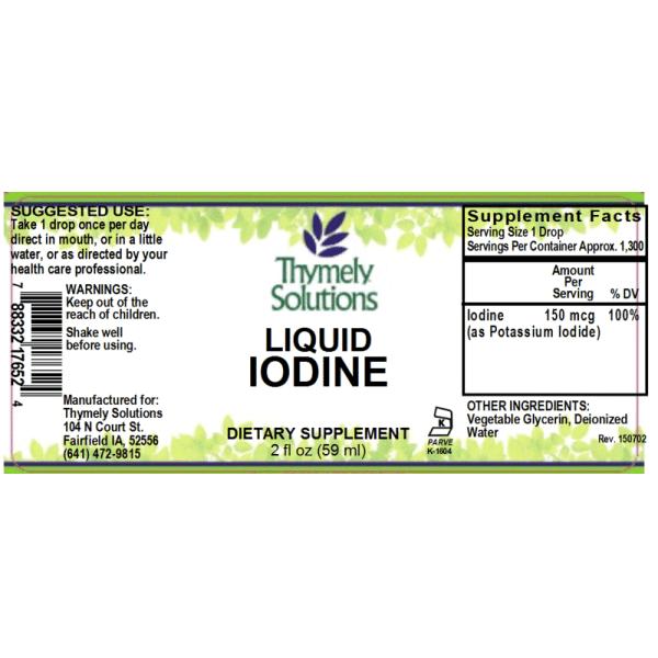 Iodine 2oz