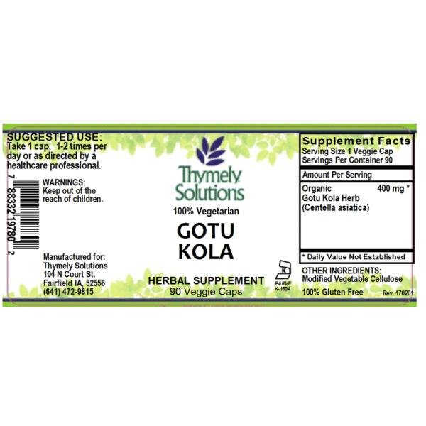 Gotu Kola 90C