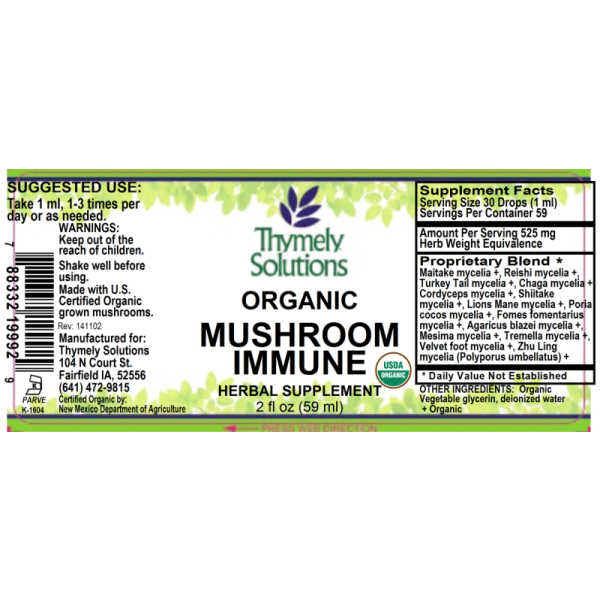 Mushroom Immune 2oz