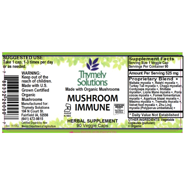 Mushroom Immune 90C