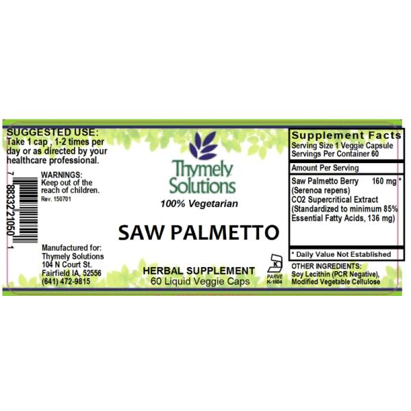 Saw Palmetto 60LC