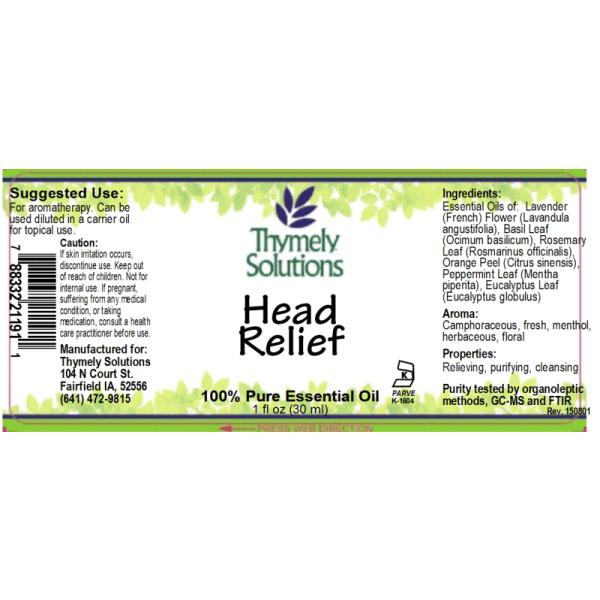 EO Head Relief 1oz