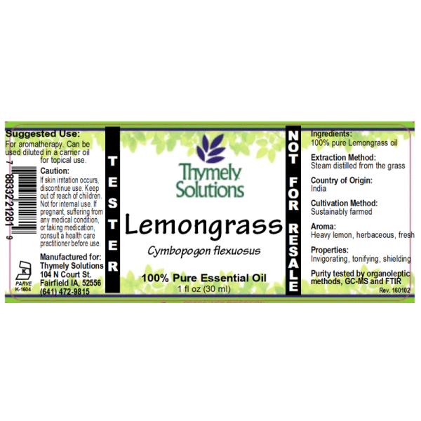 EO Lemongrass 1oz