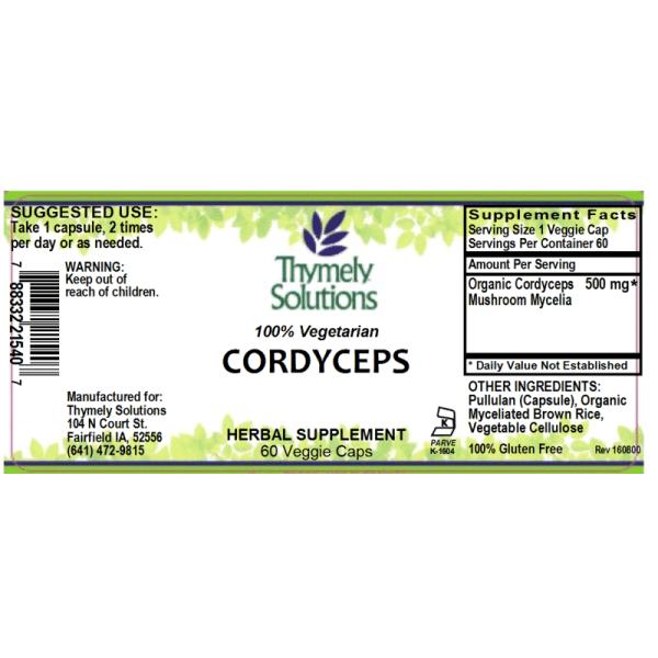 Cordyceps 60Vc