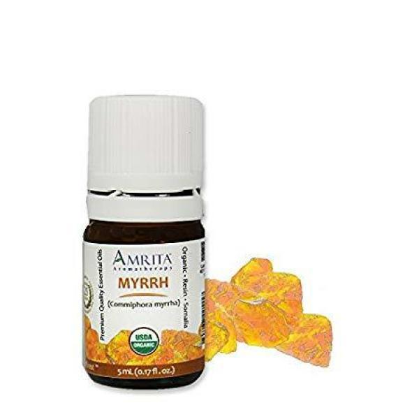 Organic Myrrh Essential Oil