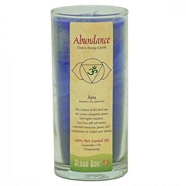 Abundance Energy Chakra Candle