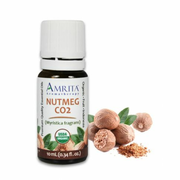 Organic Nutmeg Essential Oil 10ml