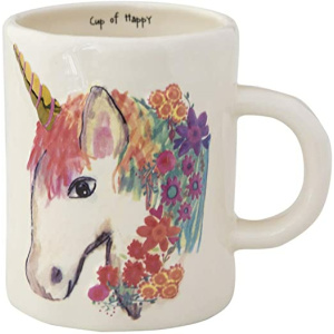 Embossed Unicorn Mug