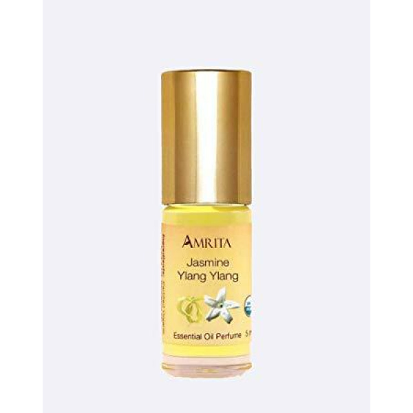 Organic Jasmine Ylang Ylang Essential Oil Perfume