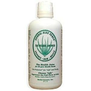 Herbal Aloe Force Juice 32 Oz